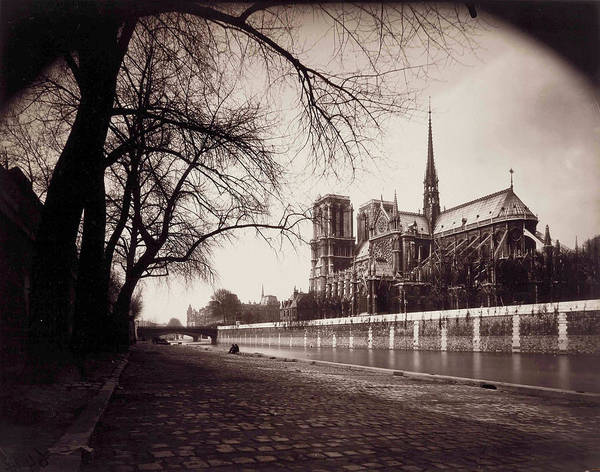 Wall Art - Photograph - Notre-dame, 1923 by Eugene Atget