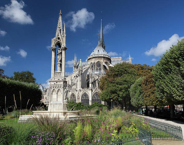 Photograph - Notre Dame Garden by Jemmy Archer