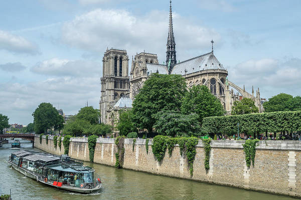Wall Art - Photograph - Notre Dame, Paris, France by Jim Engelbrecht