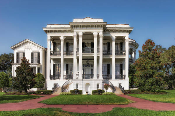 Photograph - Nottoway Plantation by Susan Rissi Tregoning