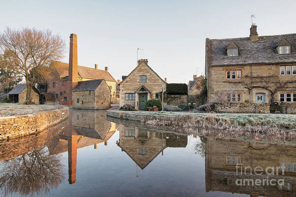 Photograph - November Light Lower Slaughter by Tim Gainey