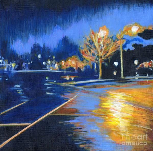 Painting - November Rain by Tanya Filichkin