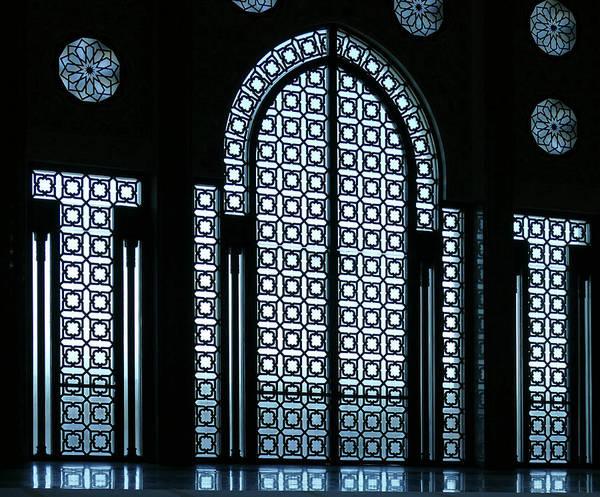Photograph - Ntricate Lattice Work Windows And Doors  by Steve Estvanik