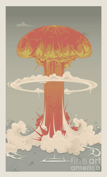 Wall Art - Photograph - Nuclear Explosion by Apartment