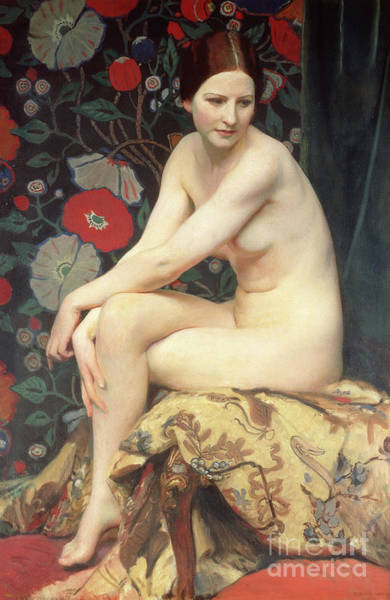 Wall Art - Painting - Nude, 1927 by George Spencer Watson