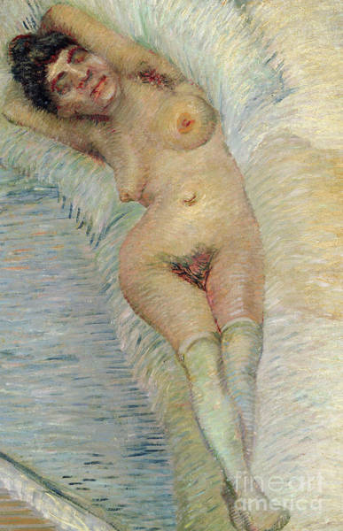 Wall Art - Painting - Nude Detail By Van Gogh by Vincent Van Gogh