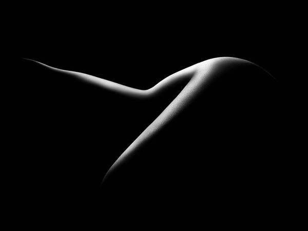Butt Photograph - Nude Woman Bodyscape 15 by Johan Swanepoel