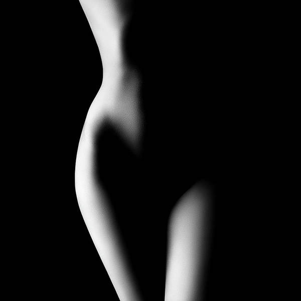 Stomach Wall Art - Photograph - Nude Woman Bodyscape 23 by Johan Swanepoel