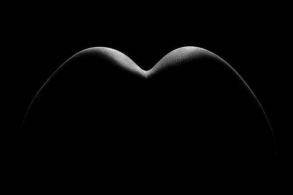 Butt Photograph - Nude Woman Bodyscape 8 by Johan Swanepoel