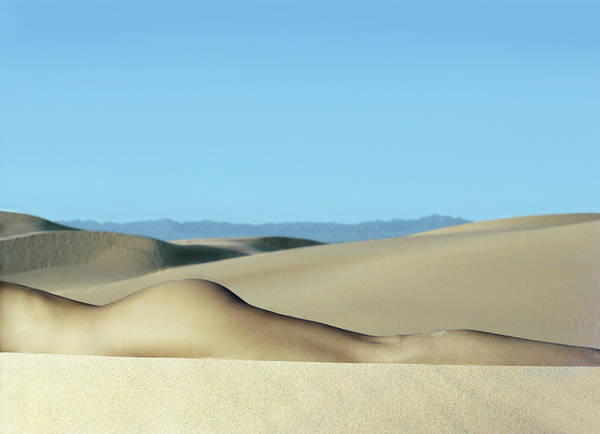 Buttocks Photograph - Nude Woman In Desert by Seth Goldfarb