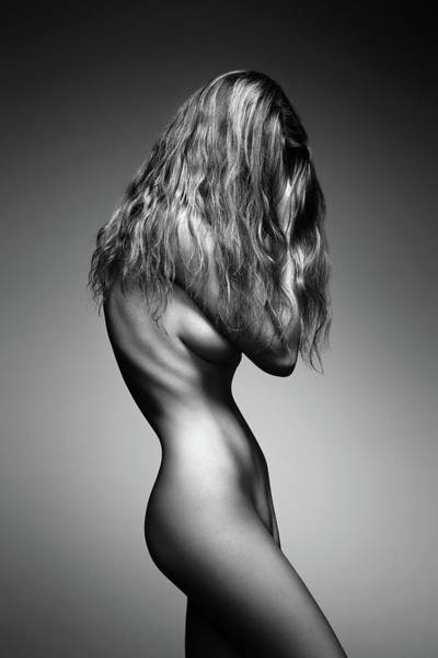 Stomach Photograph - Nude Woman Sensual Body by Johan Swanepoel