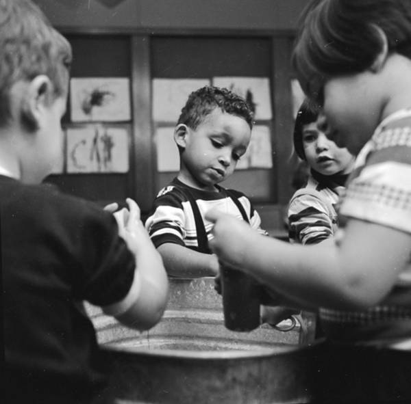 2 Photograph - Nursery School by Evans