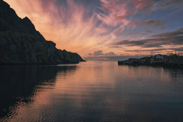 Norway Wall Art - Photograph - Nusfjord Clouds by Tor-Ivar Naess