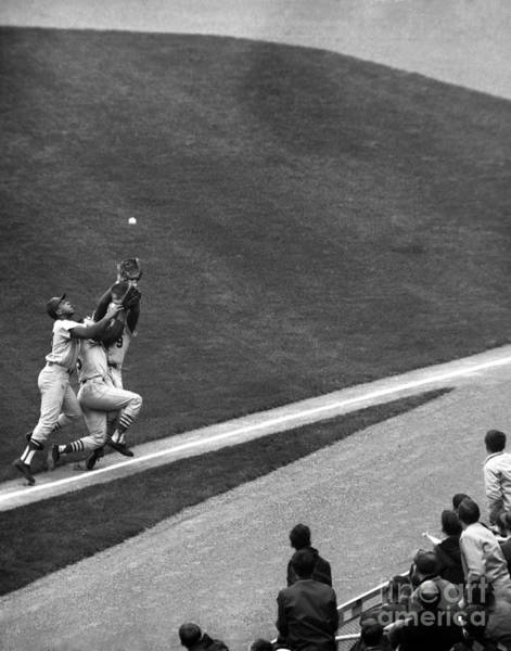 New York Mets Photograph - N.y. Mets Vs. St. Louis, Cepeda, Maris by New York Daily News Archive