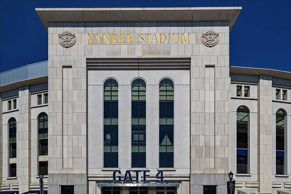 Photograph - Ny Yankee Stadium Gate 4 by Susan Candelario