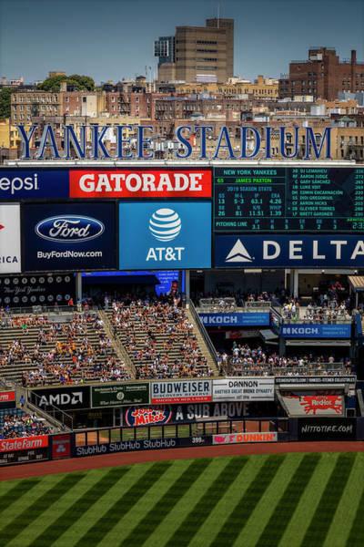 Photograph - Ny Yankee Stadium by Susan Candelario