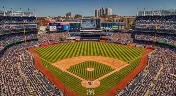 Photograph - Ny Yankees Stadium by Susan Candelario