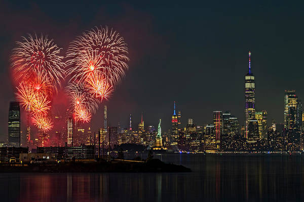 Photograph - Nyc And Nj Salutes America by Susan Candelario