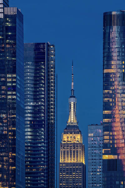Wall Art - Photograph - Nyc Empire State Building Esb by Susan Candelario