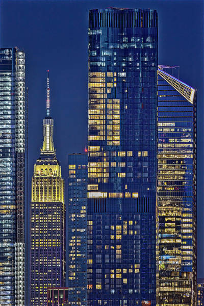 Photograph - Nyc Esb Empire State Building  by Susan Candelario