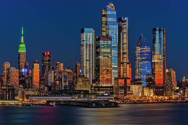 Photograph - Nyc Hello Hudson Yards  by Susan Candelario
