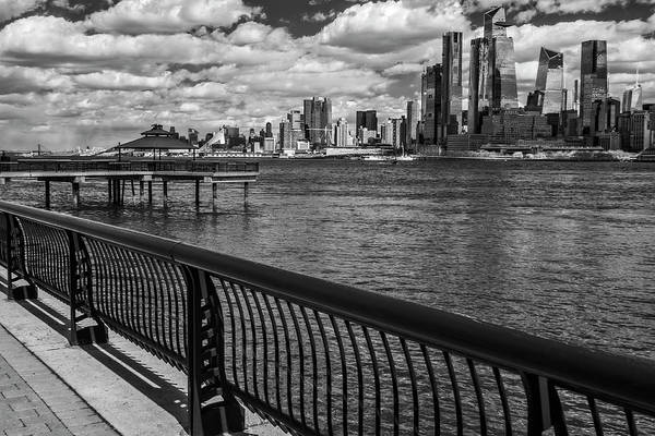 Photograph - Nyc Hudson Yards Skyline Ir by Susan Candelario