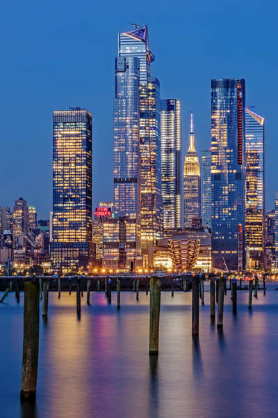 Photograph - Nyc Hudson Yards Skyline by Susan Candelario