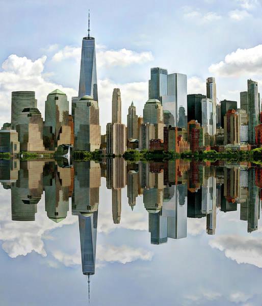 Wall Art - Photograph - Nyc Manhattan Skyline by Geraldine Scull