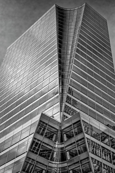Photograph - Nyc Rgb Architecture Bw by Susan Candelario