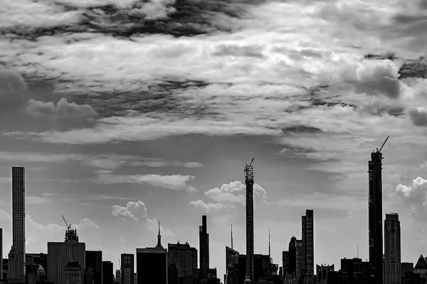 Photograph - Nyc Skyline - New High Rise Construction by Robert Ullmann