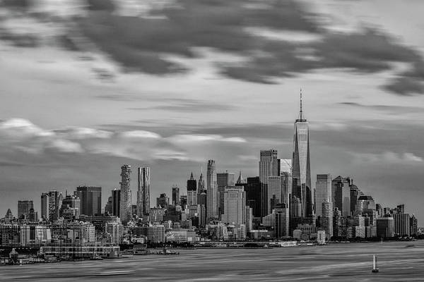 Photograph - Nyc World Trade Center Wtc Bw by Susan Candelario