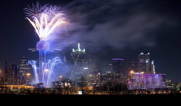 Photograph - Nye Dallas 2019 by Rospotte Photography