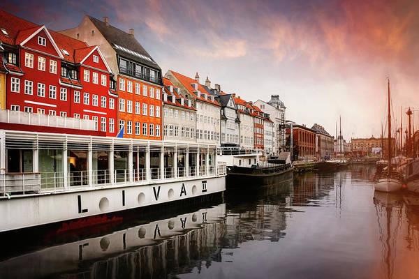 Scandinavian Photograph - Nyhavn Copenhagen In Winter  by Carol Japp
