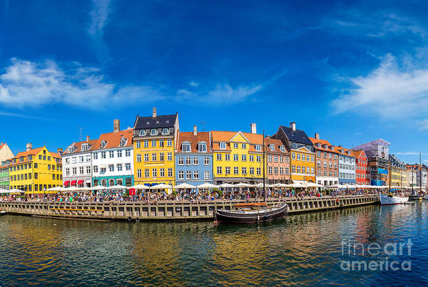Yacht Wall Art - Photograph - Nyhavn District Is One Of The Most by S-f