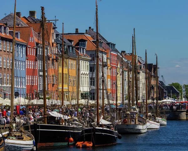 Photograph - Nyhavn Waterfront In Copenhagen II by William Dickman
