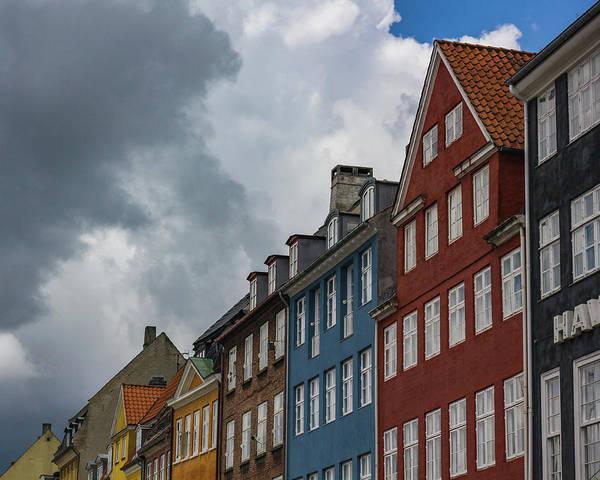 Photograph - Nyhavn Waterfront In Copenhagen IIi by William Dickman