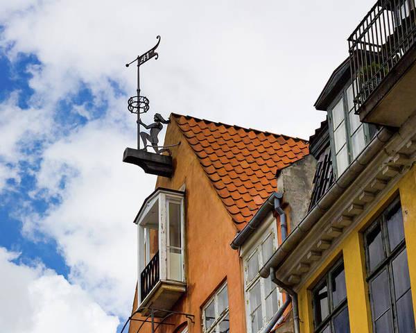 Photograph - Nyhavn Waterfront In Copenhagen Iv by William Dickman