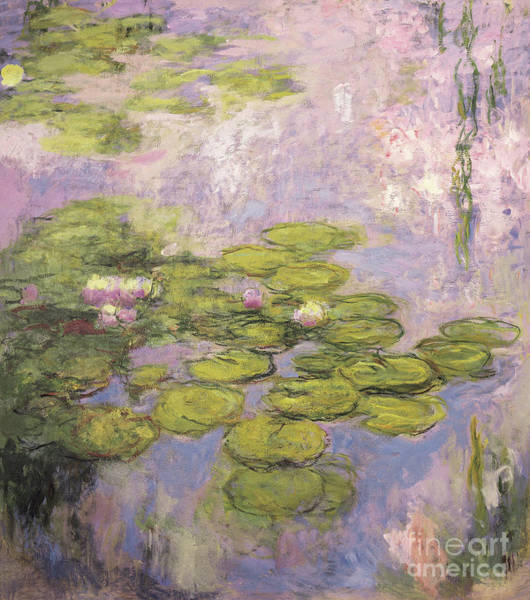 Painting - Nympheas, 1916 To 1919 by Claude Monet