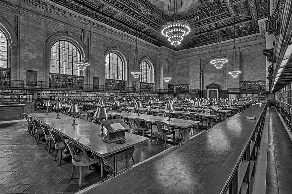 Photograph - Nypl New York Public Library  by Susan Candelario