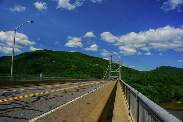 Photograph - Ny's Appalachian Trail Crosses The Bear Mountain Purple Heart Memorial Bridge by Raymond Salani III