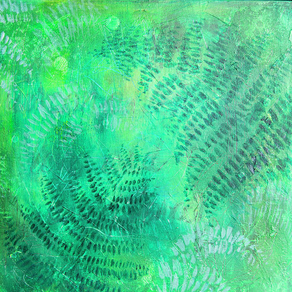 Painting - Nz Ferns by Jocelyn Friis