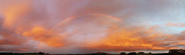 Wall Art - Photograph - Nz Rainbow  by Les Cunliffe