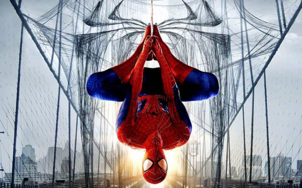 Tobey Digital Art - O Espetacular Homem-aranha- 2 by Geek N Rock