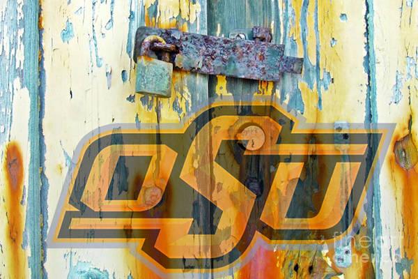 Osu Digital Art - O S U by Steven Parker