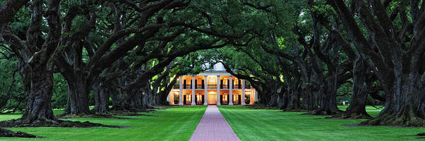 Louisiana Photograph - Oak Alley Plantation In Louisiana by Jeremy Woodhouse
