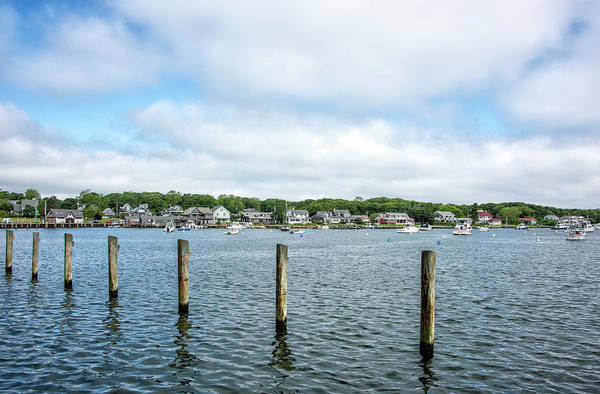 Wall Art - Photograph - Oak Bluffs Harbor And Marina - Martha's Vineyard by Brendan Reals