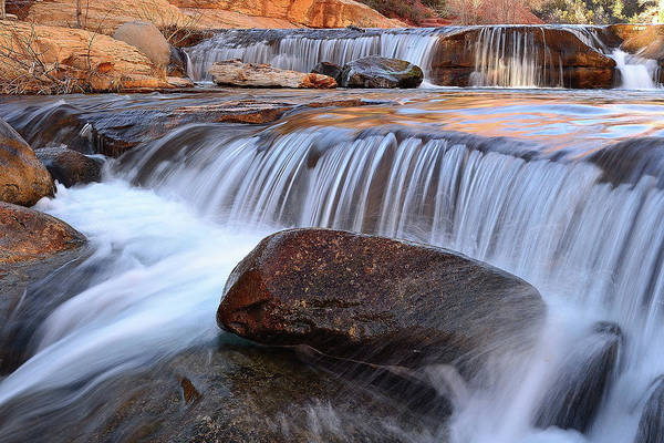 Wall Art - Photograph - Oak Creek, Sedona by Mikes Nature