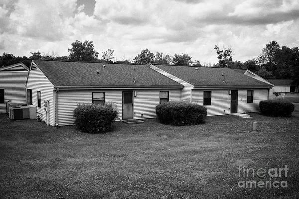 Wall Art - Photograph - oak ridge housing authority houses in van hicks place Oak Ridge Tennessee USA by Joe Fox
