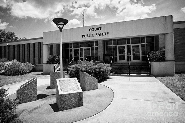 Wall Art - Photograph - Oak Ridge Municipal Building And Courthouse With Birth Of A City Monuments N The Former Secret City  by Joe Fox