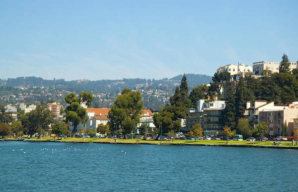 Residential Area Photograph - Oaklands Lake Merritt, Park, And by Davel5957